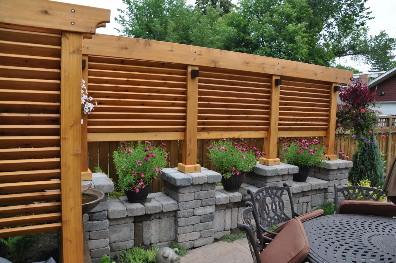 Outdoor Structures   City Gardens Landscaping Saskatoon