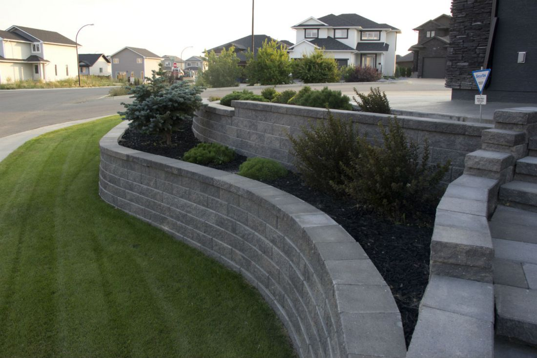 Retaining Walls & Stairs